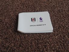 FULHAM MEMBERSHIP CARD HOLDER 2018/19
